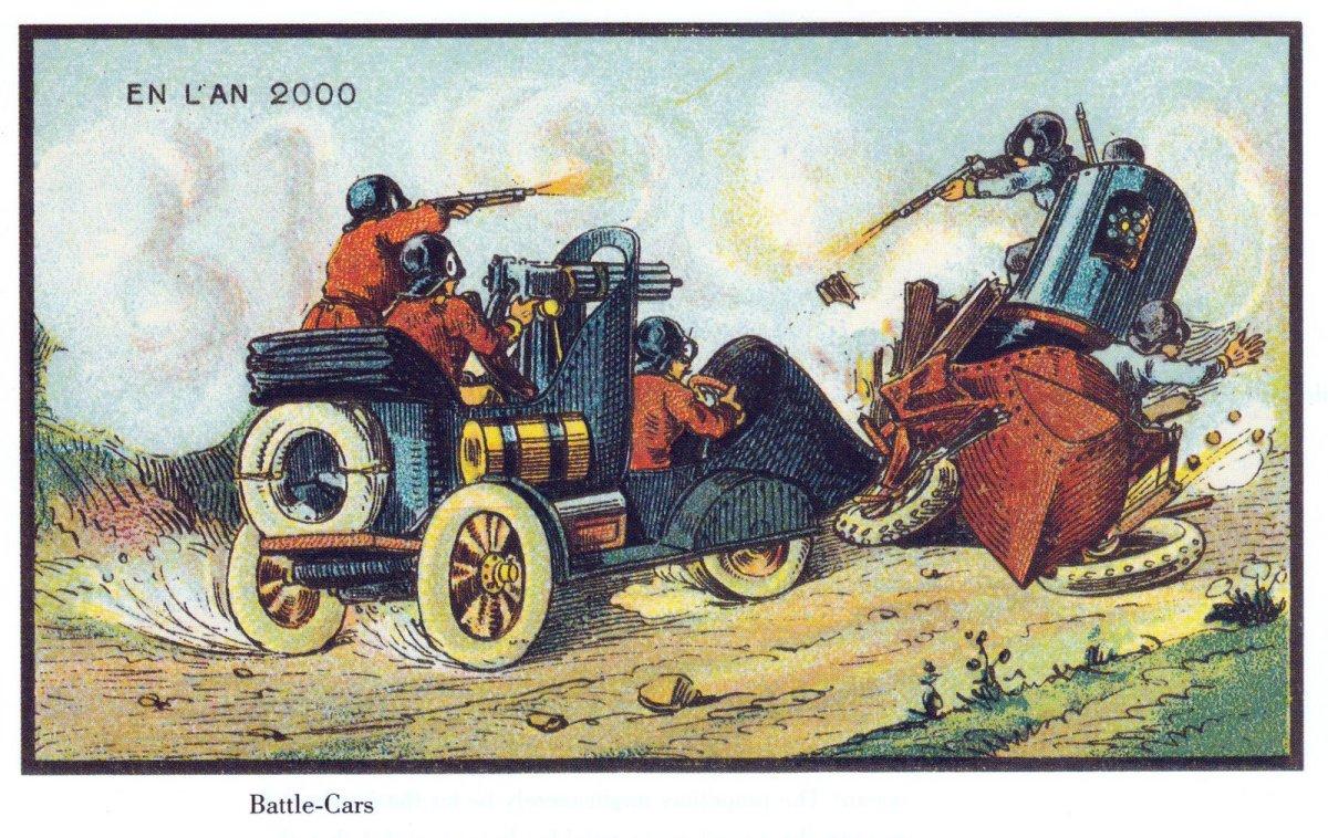 France_in_XXI_Century._War_cars